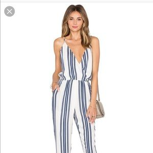 Lovers and Friends striped jumpsuit!